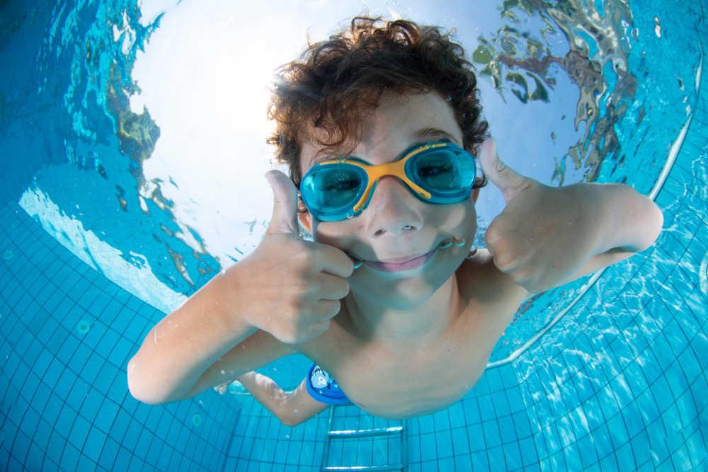 Las piscinas de agua salada ahora son las favoritas de toda la familia