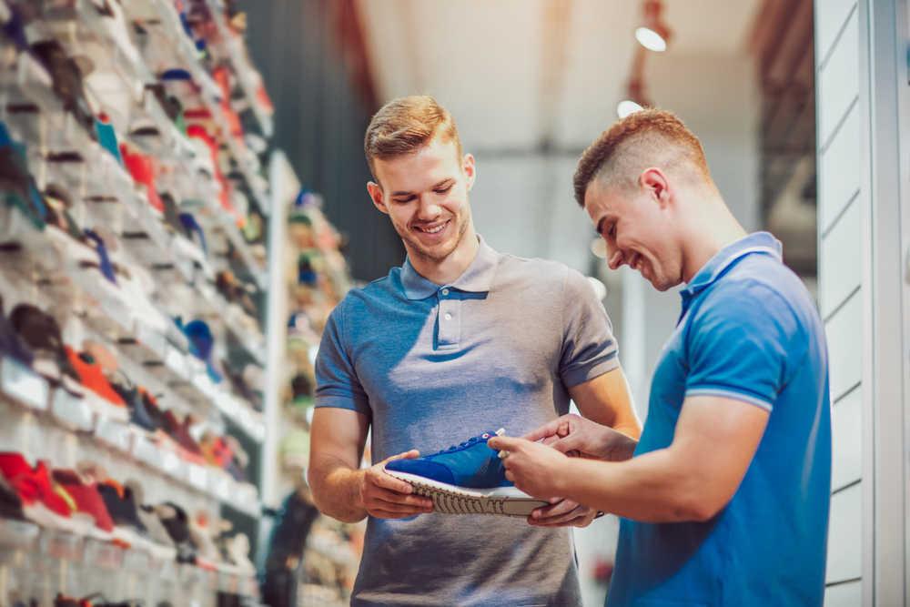 Emprendimiento en las tiendas de artículos de deporte